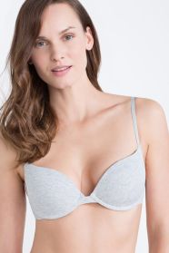 WS cotton push-up bra (32-36D)