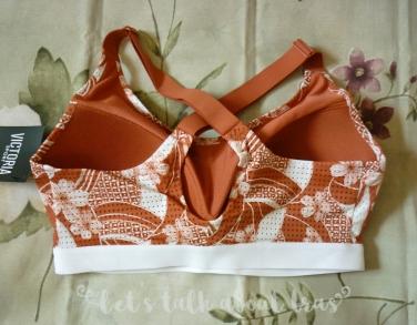 Lightweight by Victoria's Secret 32DD floral back