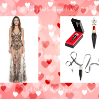 Valentine's Day lingerie: beauty and bras makeup matchmaker edition